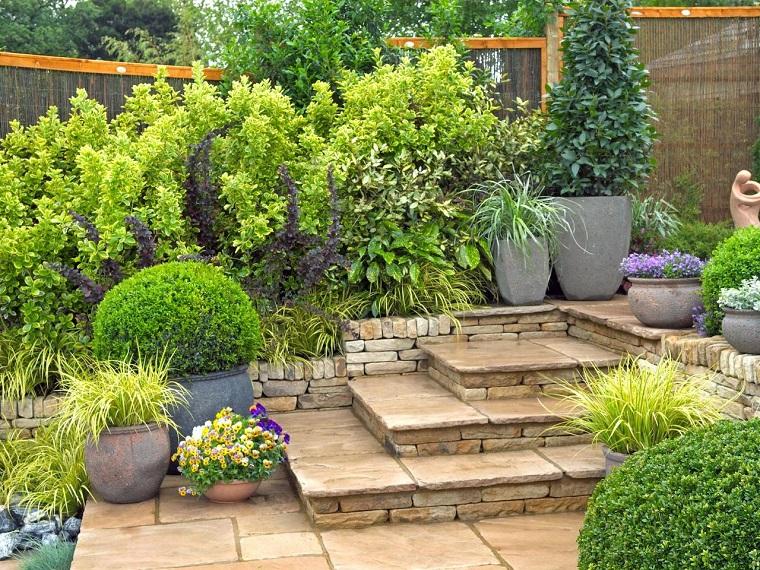 giardini con pietre-idea-originale