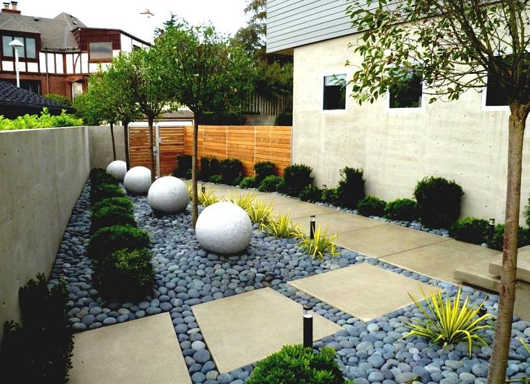 giardini con pietre-stile-zen