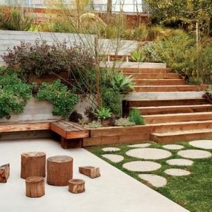 Barbecue in muratura progetto e costruzione fai da te - Idee giardino in pendenza ...