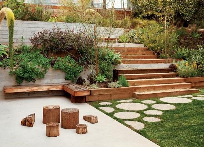 Giardini in pendenza - Idee giardino in pendenza ...