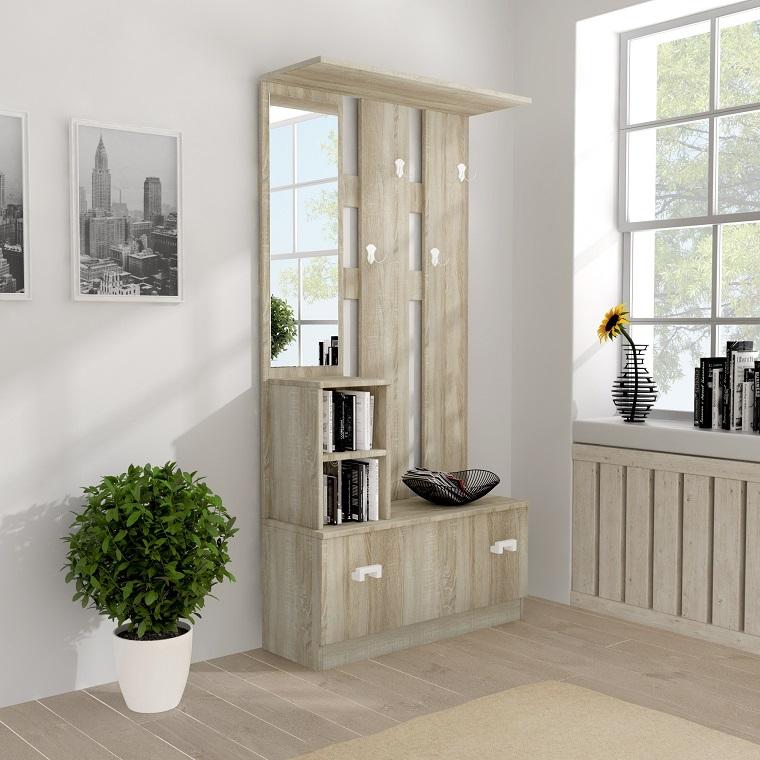 guardaroba-per-ingresso-legno-chiaro