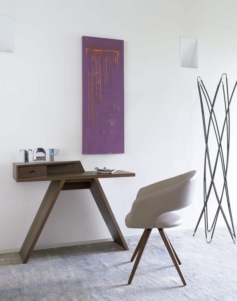 ingresso-moderno-consolle-sedia-design