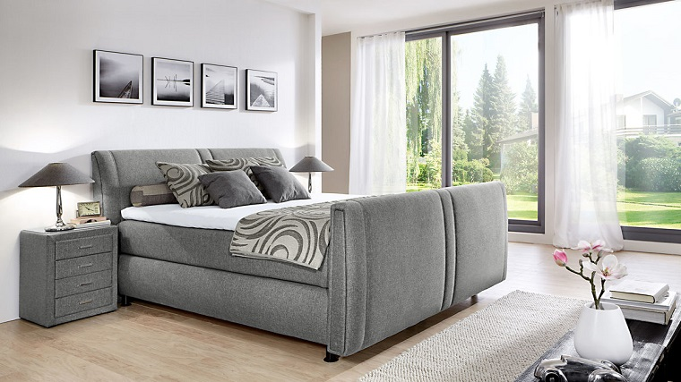 interior-design-camera-da-letto-grigia Colori camera da letto  10 sfumature  di grigio per la zona più intima ... 55aad988bb1e
