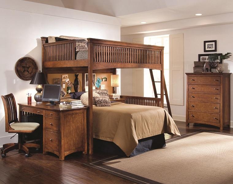 letto-a-castello-per-adulti-legno-scuro