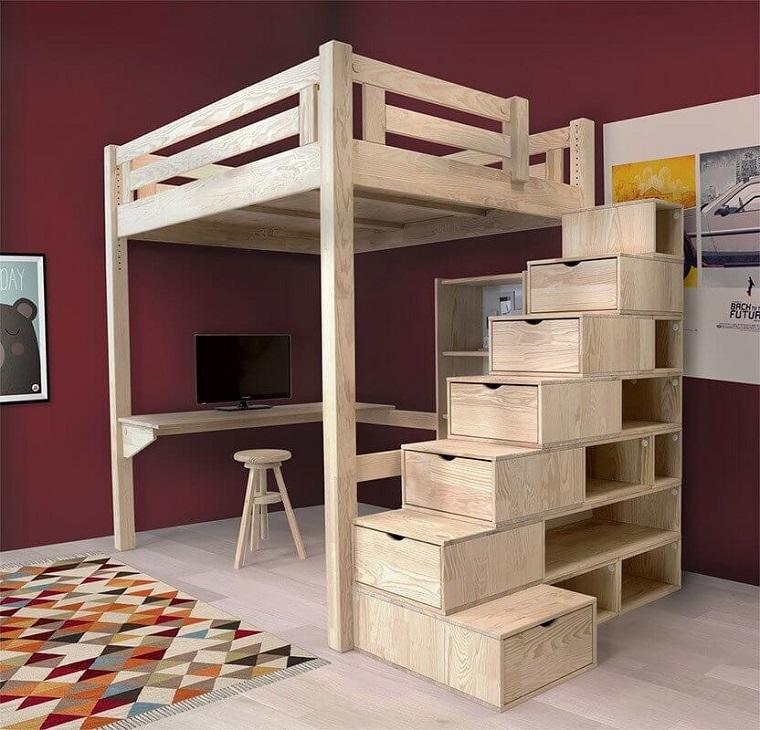 letto-soppalco-proposta-legno-naturale