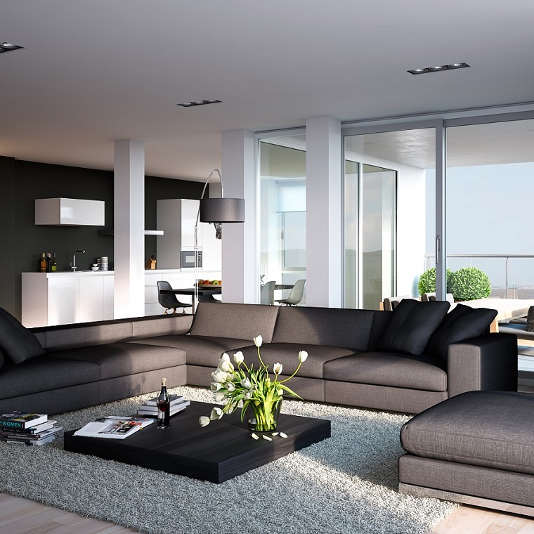 open-space-arredamento-proposta-elegante