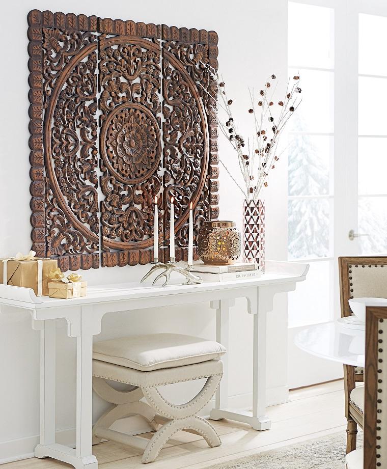 pannelli decorativi per pareti ecco come cambiare il look. Black Bedroom Furniture Sets. Home Design Ideas