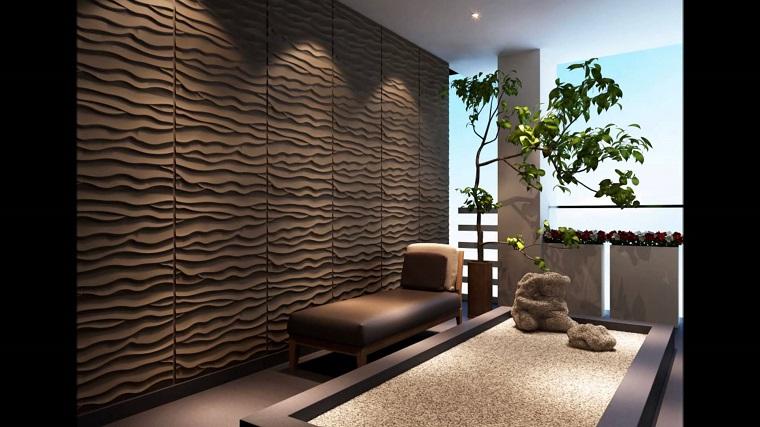 parete-decorata-pannello-colore-scuro