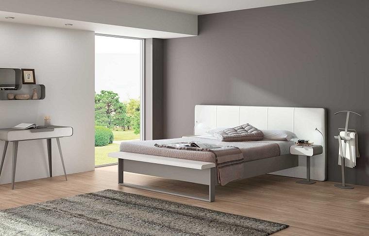 Pareti tortora una cornice chic per tutti gli ambienti della casa - Parete camera da letto tortora ...