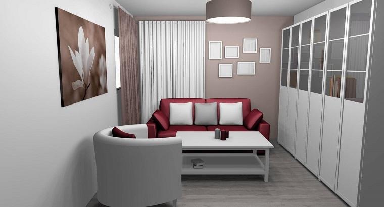 parete-tortora-salotto-dimensioni-ridotte