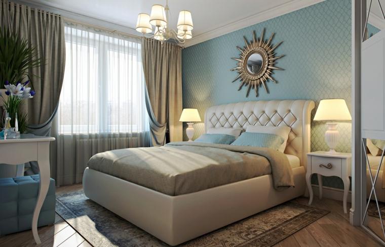 parete-zona-notte-azzurra-stile-classico