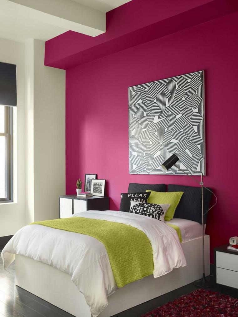 parete-zona-notte-colore-viola