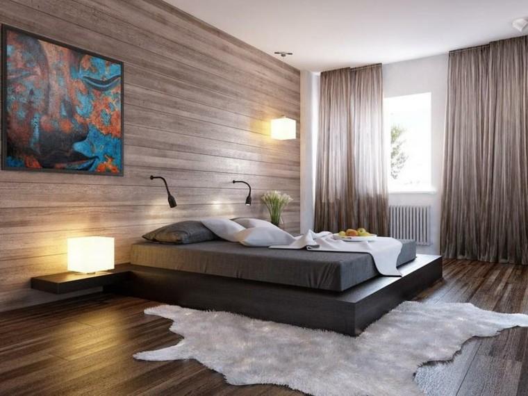 parete-zona-notte-effetto-legno-tende