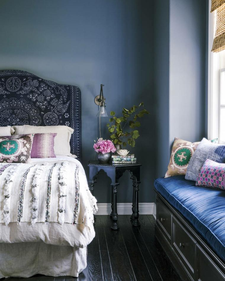 pareti-camera-da-letto-blu-idea-stile-marrocchino