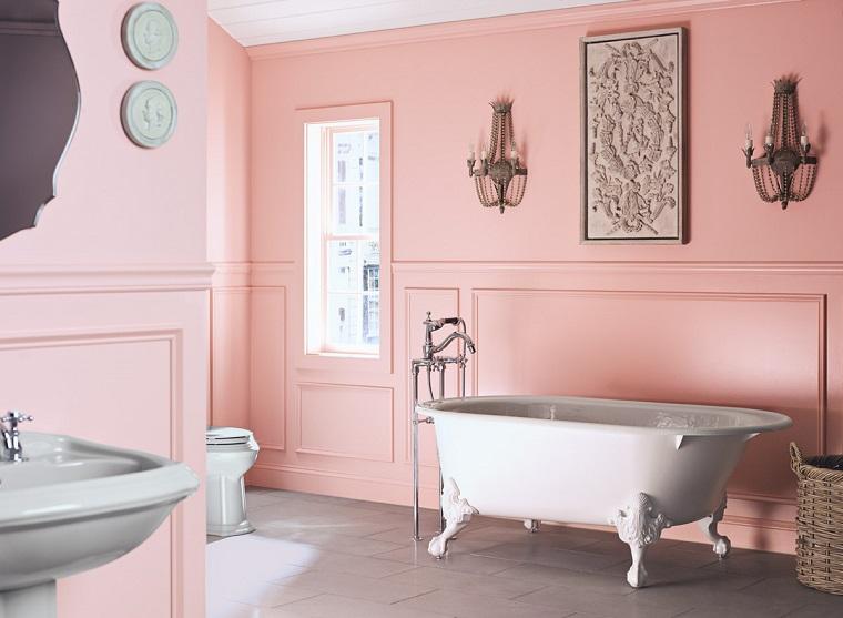 pareti-colorate-rosa-antico-bagno
