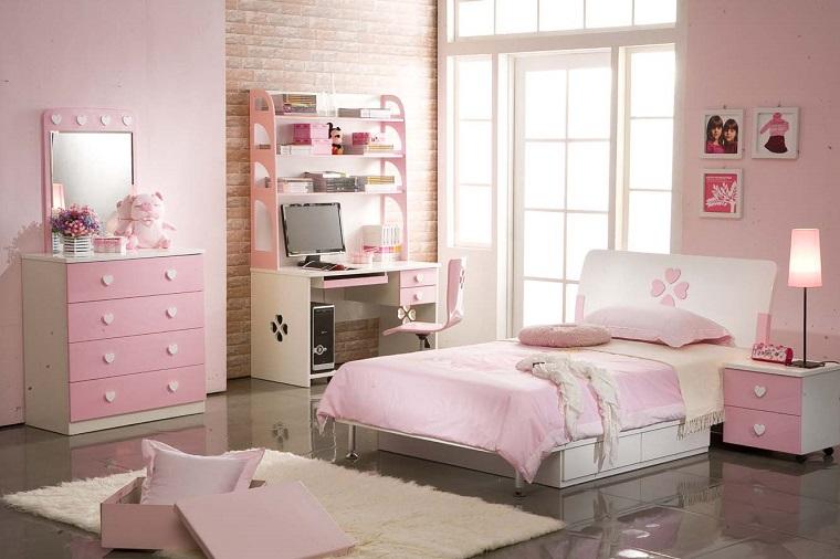 Stanza Da Letto Rosa : Pareti rosa camera da letto. trendy camera da letto pareti colorate