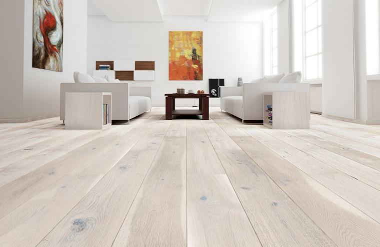 parquet bianco-design-soggiorno-moderno
