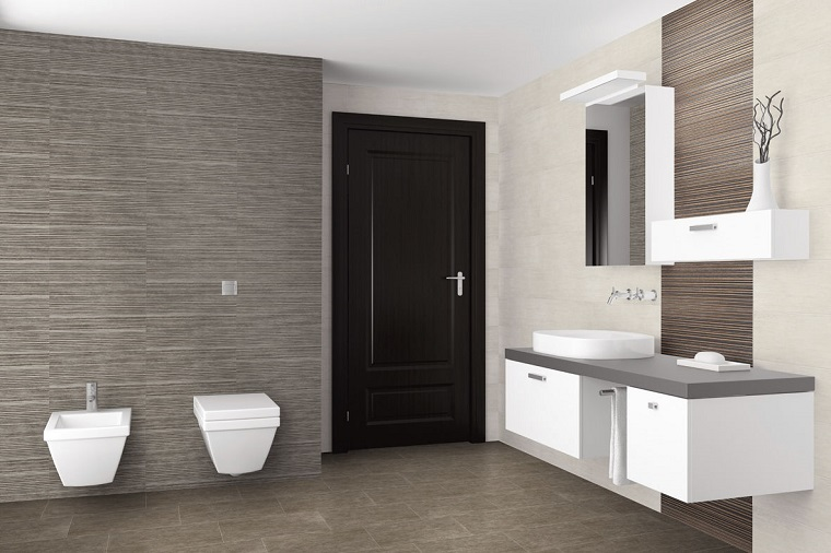 Rivestimento bagno moderno dalle piastrelle ai pannelli le