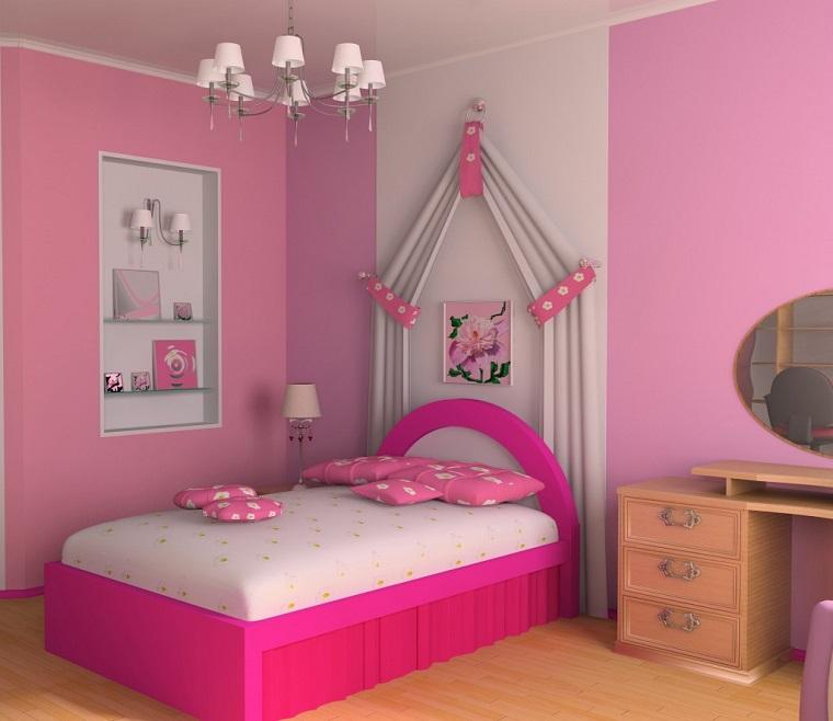 pittura-per-camerette-idea-rosa-bimbe