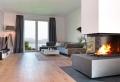 Salotto con camino: una zona living che unisce comfort e funzionalità!