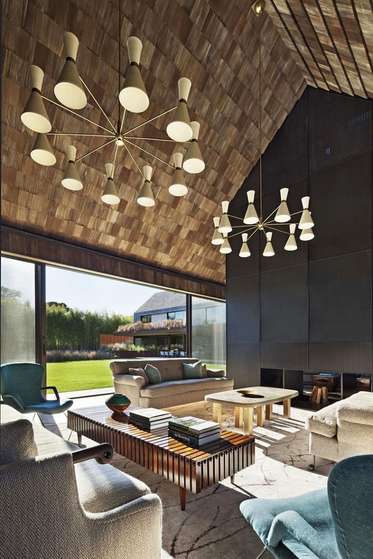 soffitti-in-legno-lampadari-sospensione-design-moderno