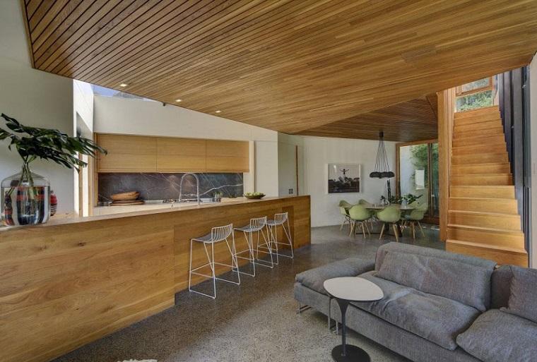 soffitti in legno-open-space-arredamento