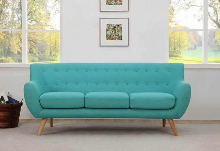 stile anni 60-sofa-azzurro