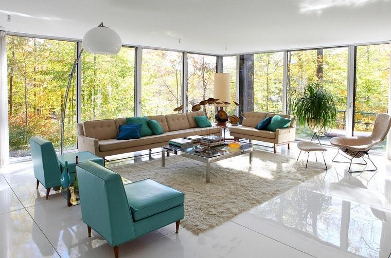 stile anni 60-zona-living
