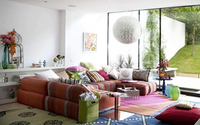 stile etnico-idea-arredare-soggiorno