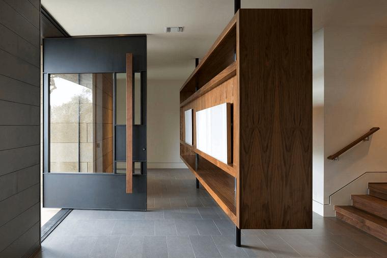 stile-minimal-arredamento-ingresso-casa