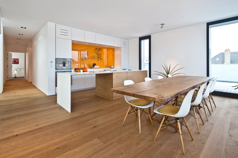 Tavoli in legno grezzo: un dettaglio rustico di grande effetto ...