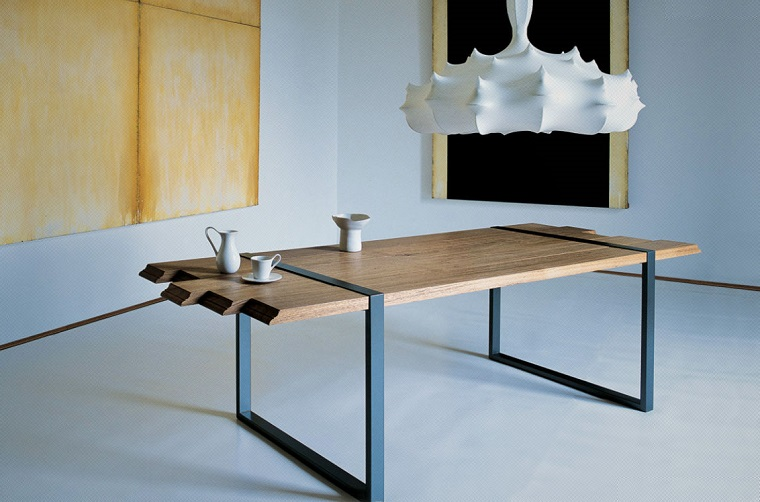 Tavolo Design Legno Grezzo : Tavoli in legno grezzo un dettaglio rustico di grande effetto