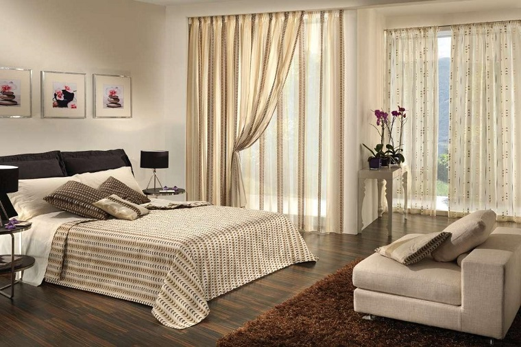 Tende per camera da letto tante idee per grandi e piccini for Idee tende camera da letto