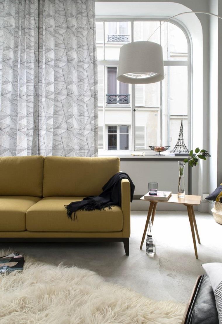 Tende per soggiorno come scegliere quelle pi adatte al for Tende moderne per soggiorno