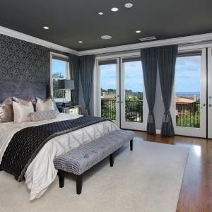 1001 idee come arredare la camera da letto con stile - Tende x camera da letto ...