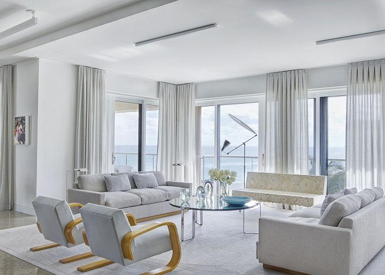 Tende per soggiorno come scegliere quelle pi adatte al vostro living - Tende moderne per soggiorni ...