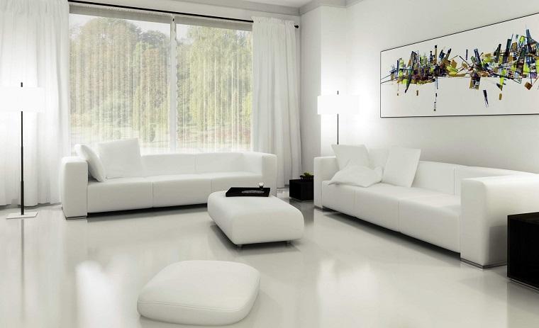 Tende per salone moderno. gallery of tende soggiorno moderno with