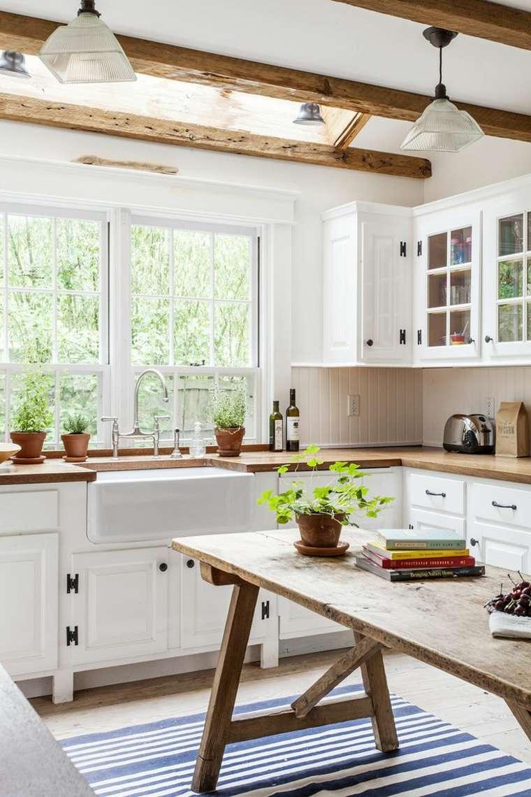 travi-in-legno-cucina-arredamento-country