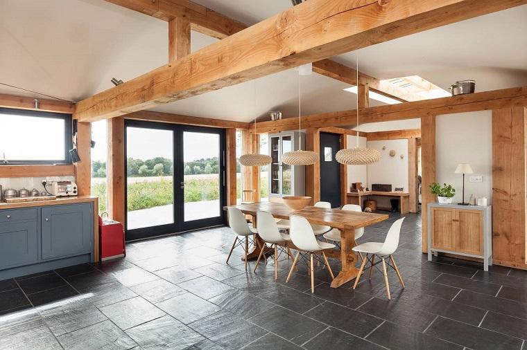 travi-in-legno-open-space-design