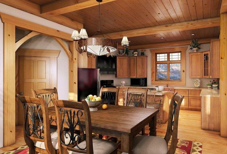 travi-in-legno-zona-giorno-mobili-stile-rustico