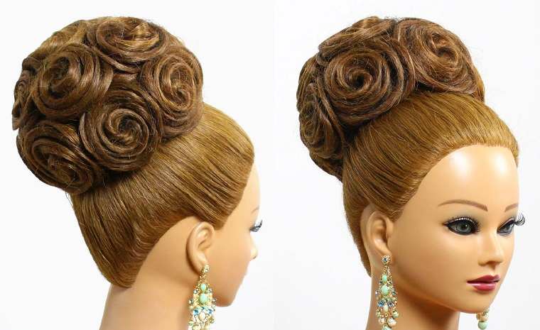 acconciatura-sposa-idea-chignon-rose