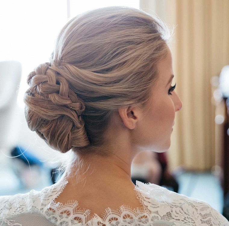 acconciature sposa-idea-chignon