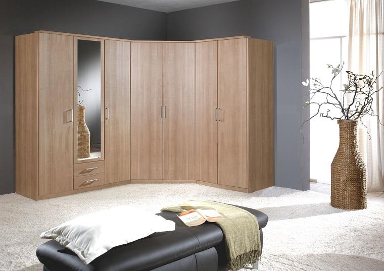 armadio angolare-legno-dimensioni-ridotte