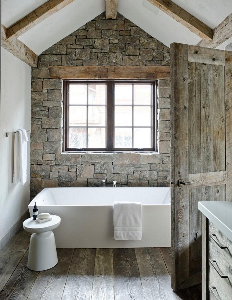 Bagni rustici, fra legno e pietra tante idee calde e rilassanti ...