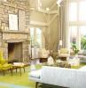 arredo-soggiorno-idea-parete-mattoni
