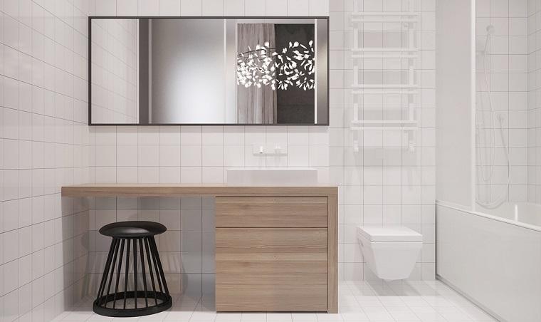 Bagno moderno piccolo: colori chiari e mobili sospesi le scelte ad hoc! - Archzine.it