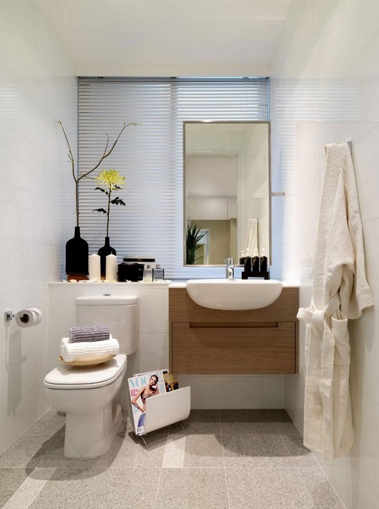 Bagno moderno piccolo: colori chiari e mobili sospesi le scelte ad ...