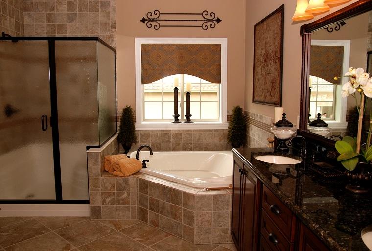 Bagni rustici, fra legno e pietra tante idee calde e rilassanti - Archzine.it