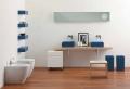 Bagno moderno piccolo: colori chiari e mobili sospesi le scelte ad hoc!