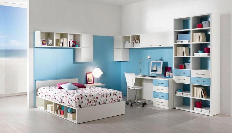 cameretta-ragazze-mobili-bianchi-azzurri